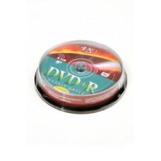 Записываемый компакт-диск VS DVD+R 8.5 GB  8x CB/10 Double Layer Ink Print