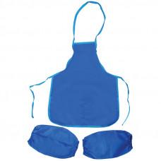 Фартук с нарукавниками ArtSpace, 48,5*39,5см, 2 кармана, синий ArtSpace ФСН_17716