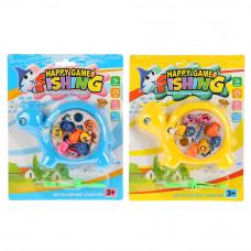 Игра рыбалка заводная, цвет в ассорт. 188-8 на карт. в кор.2*144шт