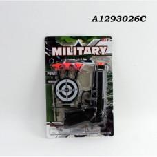 Пистолет с присосками на карт. в кор.2*300шт