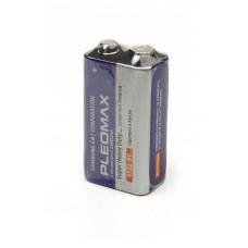 Батарея PLEOMAX 6F22 SR1, в упак 10 шт